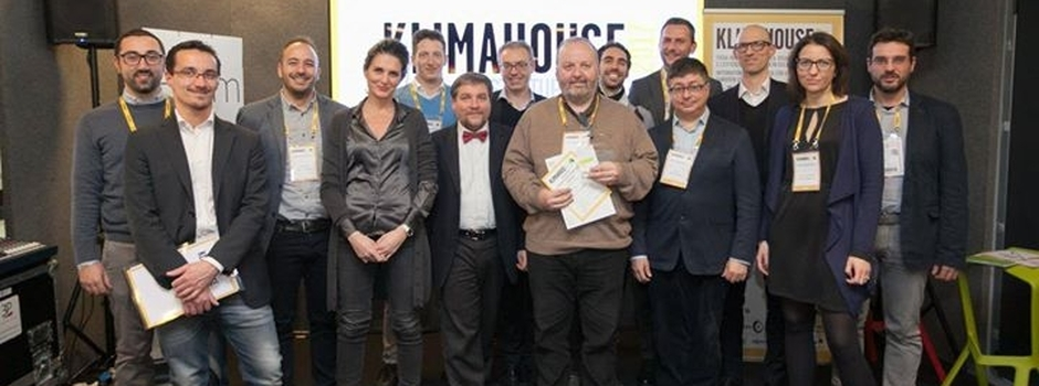 Nova Somor and Drexel und Weiss GmbH awarded by the Klimahouse's jury as the most innovative Start u...